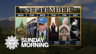 Calendar: Week of September 17