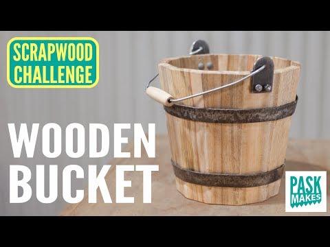 Making a Wooden Bucket - Scrapwood Challenge Day 5