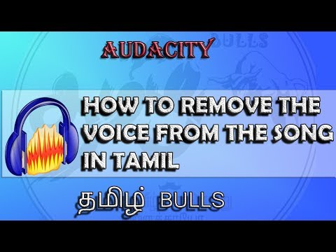 How to remove the voice from a song(Audacity)
