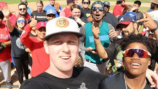 WE HAD A MEET-UP WITH THE FANS AND PLAYED SOFTBALL! | Kleschka Vlogs