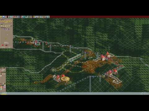RollerCoaster Tycoon Deluxe - Lightning Peaks (1999/2003) [WINDOWS]