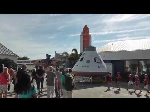 Bus-Reise von New York nach Miami: Cape Canaveral - der Weltraumbahnhof - Flug zum Mond