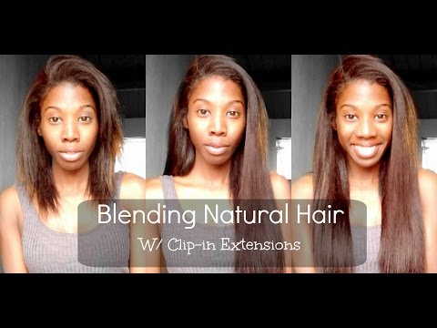 How To Install Clip-in Hair Extensions - BetterLength Light Yaki