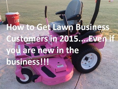 9 Lawn Care Marketing Tips I have used to Gain Customers in 2015