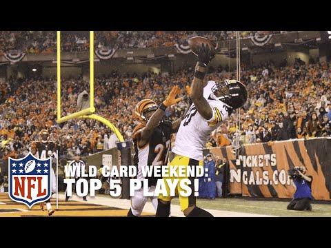 Top 5 Plays of 2015 Wild Card Weekend! | NFL