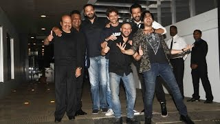 Kaabil Team At Hrithik Roshan
