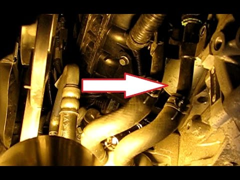 How to replace the starter in a 2.4L Hyundai Sonata part 1: Removal