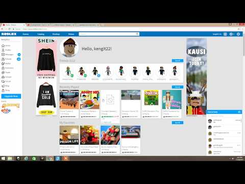 How to get free robux *not fake* (only works on computer)