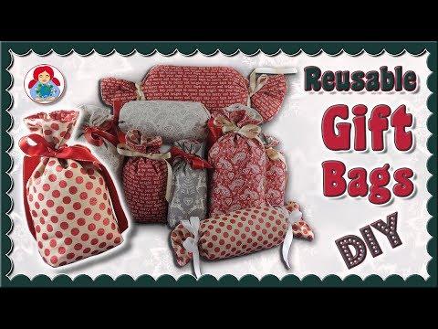 DIY | Reusable Gift Wrap Bags • Sami Dolls Tutorials