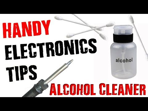 ELECTRONICS SOLDERING/REPAIR | ALCOHOL & PUMP SYSTEM