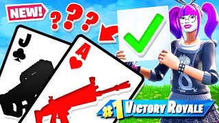 BLACKJACK *21* Card Game GAME MODE in Fortnite Battle Royale