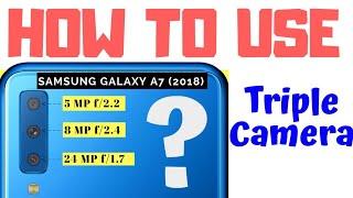 How Triple Camera Works? 📸 Samsung Galaxy A7