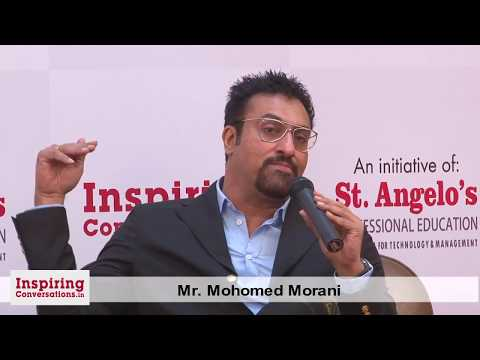 Inspiring Conversations 13 with Mohomed Morani. Interviewed by Agnelorajesh Athaide.