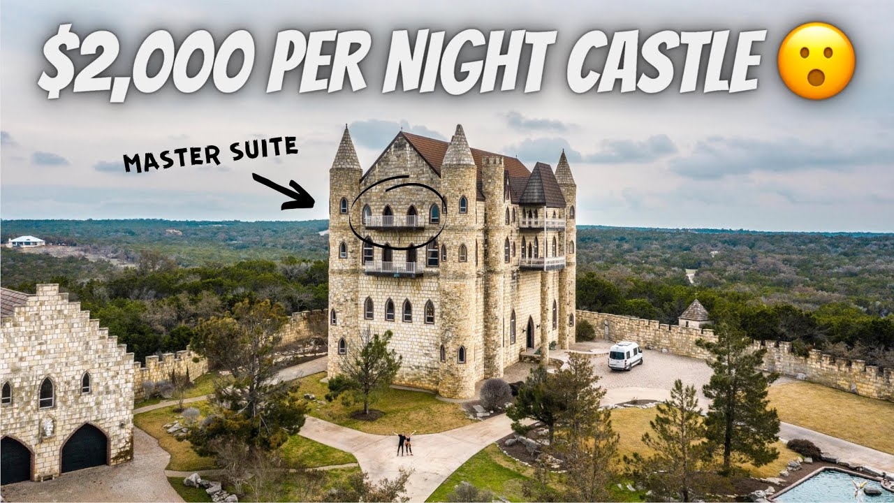 WE RENTED THE ENTIRE CASTLE (want to see what's inside?)