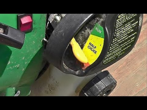 How to Start Gas Weed Trimmer Eater