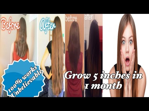 Grow 5 Inches Hair In A Month with these Hair Growth foods And Hair Growth Hacks