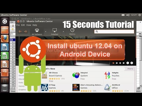 Install Ubuntu 12.04 on Android