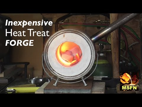 Miniature Blacksmith Propane Heat Treating Forge - MSFN