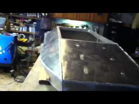 Aluminum Duck Boat