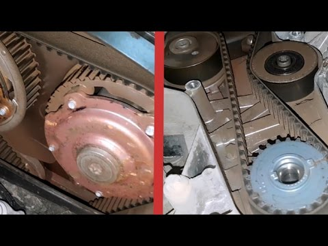 Replacing the timing belt for Opel Astra H / How To Replace Your Timing Belt for Opel Astra H