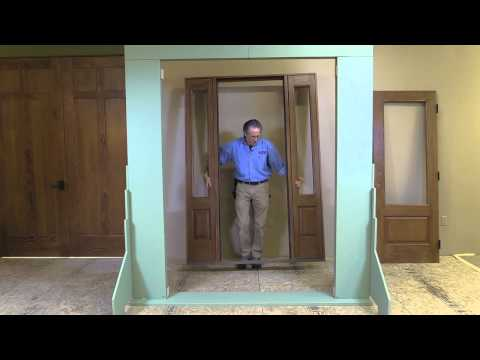 Installing A Sidelight--Door--Sidelight Unit