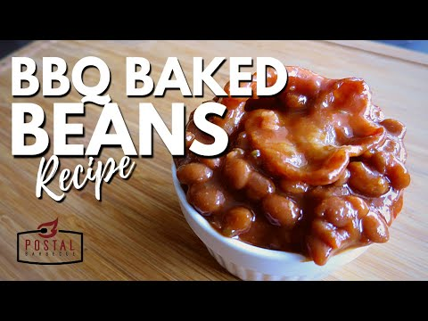 Easy BBQ Baked Beans Recipe - How to Make BBQ Baked Beans on the Grill