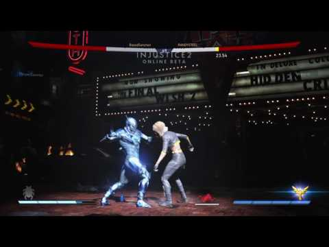 Injustice 2 Beta: Black Canary vs Blue Beatle