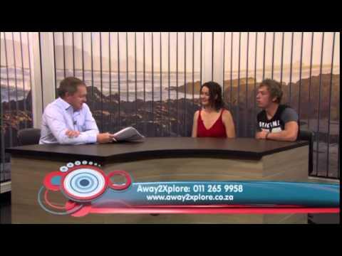 Away2xplore TV interview regarding overseas seasonal work for South Africans.