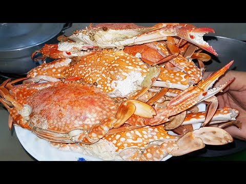 FRESH Delicious Blue Crabs And Prawns - How To Cook Perfect Blue Crabs And Prawns Delicious