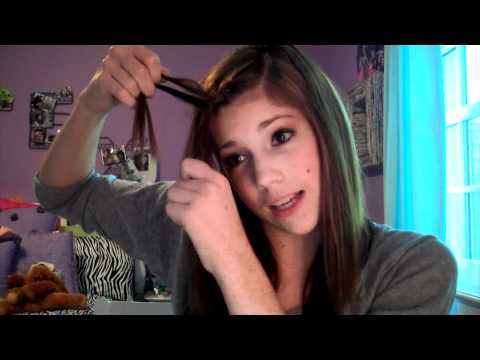 Tutorial: French Braid Your Bangs!