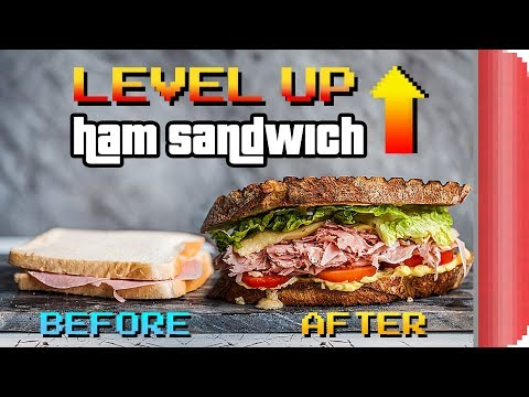 How to LEVEL UP a Ham Sandwich (Food & Video Games!)