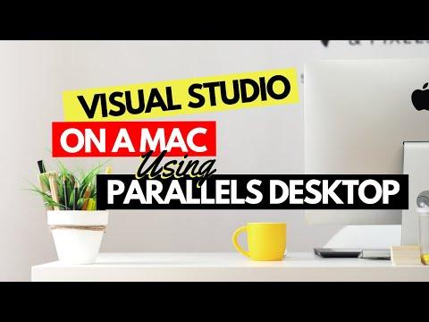 Run Visual Studio 2013 on a Mac using Parallels Desktop