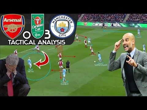 Why Wenger's Arsenal Had No Chance Against Guardiola's City in League Cup Final: Tactical Analysis