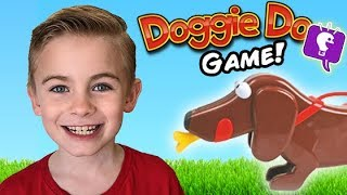 Doggy Do Board Game with the HobbyKids