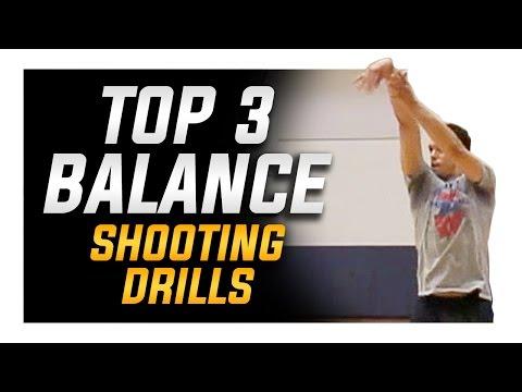 Top 3 Balance Shooting Drills: NBA Basketball Shooting Drills