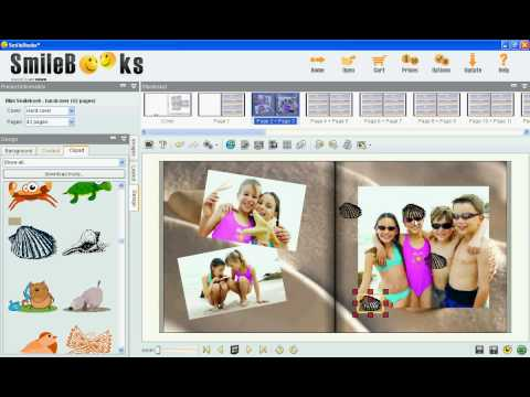 Scrapbook Corners for Your Pictures - Smilebooks Download Software