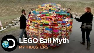 Busting The Famous Youtube LEGO Ball Myth | Mythbusters