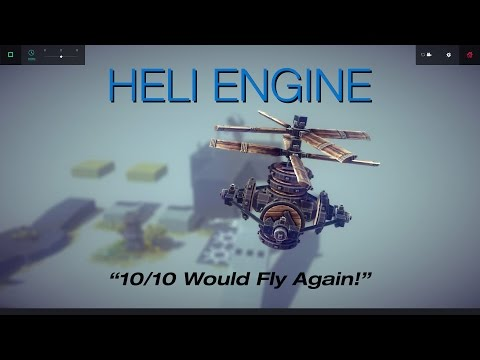 Besiege Tutorial - How to Make a Helicopter