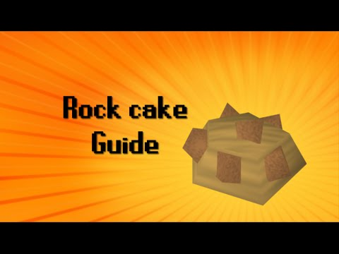 How to make Dwarven rock cake in Old School RuneScape 2007