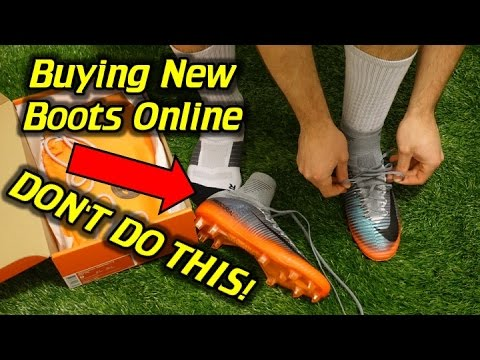 Getting the Right Fit When Ordering Boots Online Advice - Don't Do This!
