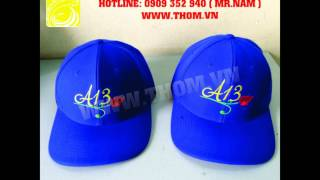 Cơ sở sản xuất nón, xưởng may nón, may nón giá rẻ, nhận may nón, may nón theo yêu cầu