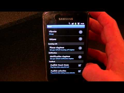How to set your Ringtone on the Samsung Galaxy S