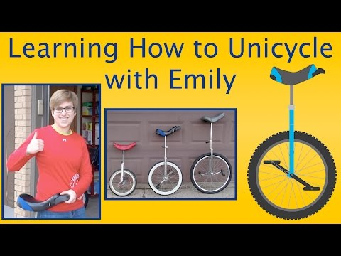 Learning How to Unicycle with Emily