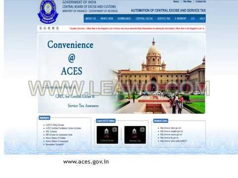 services tax online Registration