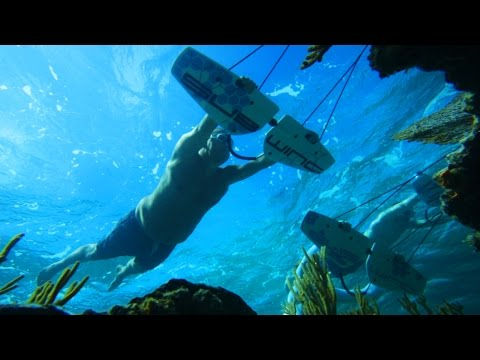 Flying Underwater! - Subwing in 4K   DEVINSUPERTRAMP