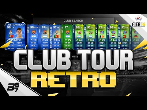 INSANE WORLD CUP CLUB TOUR! w/ TOTS MESSI! | FIFA 14