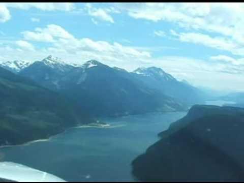 Flying from New York to Alaska