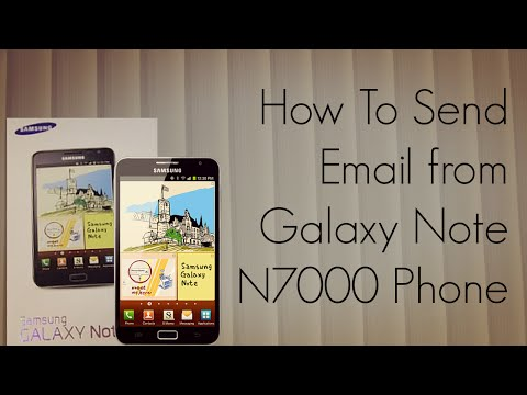 How to Send Email from Galaxy Note N7000 Phone - Gmail / Apps / Samsung Email - PhoneRadar