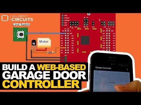 How to Build a Web based Garage Door Controller