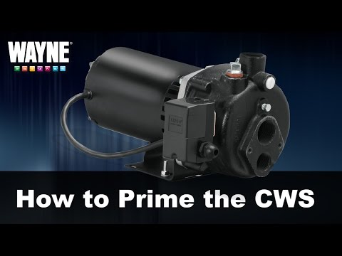 How to Prime the CWS Well Pump